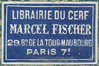 Librairie du Cerf - Marcel Fischer, prop.