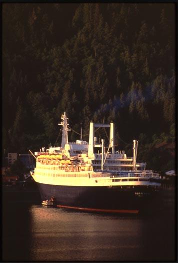 SS Rotterdam V in Juneau