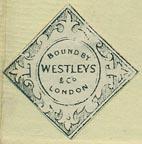 Westleys & Co., London (23mm x 23mm, ca.1865)