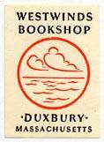 Westwinds Bookshop, Duxbury, Massachusetts (17mm x 25mm)